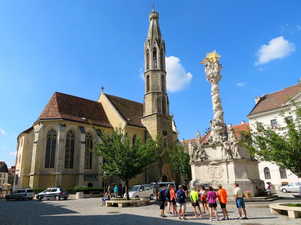 Bike tours Vienna-Balaton-Budapest -  Learning the history of Sopron