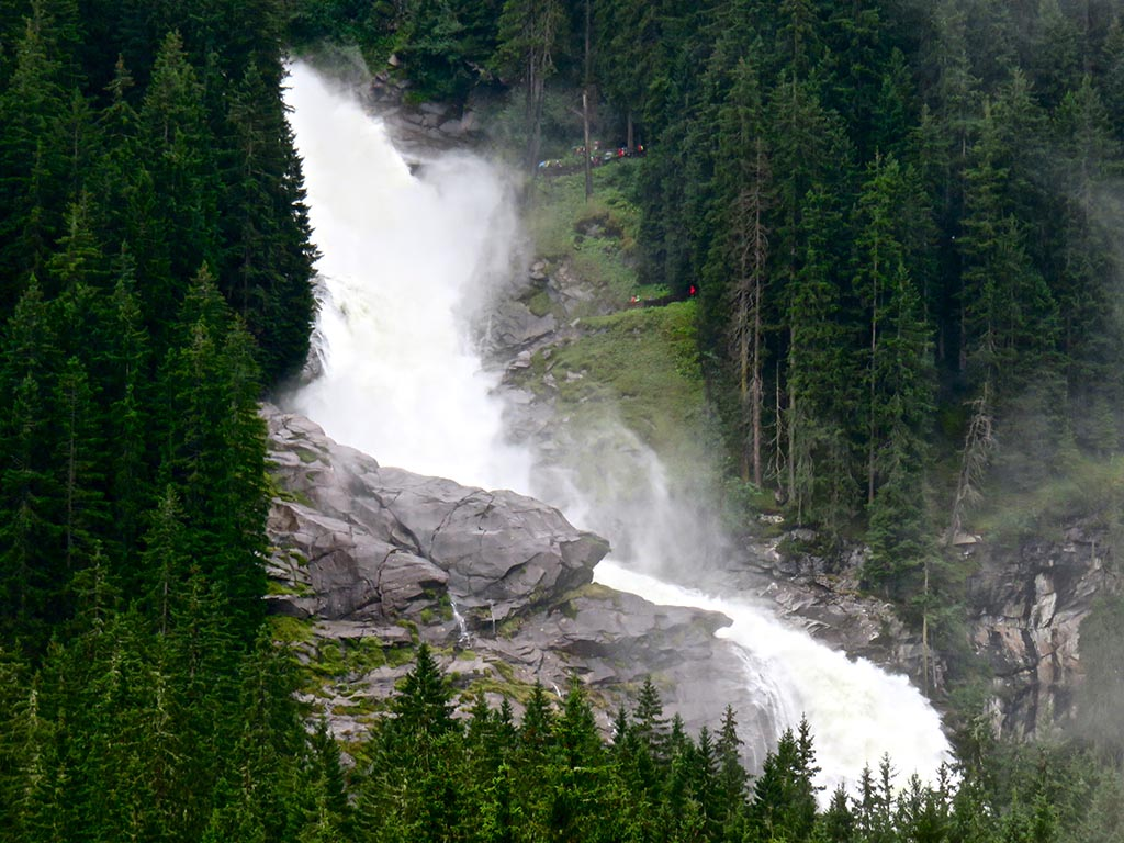 Bike tours in Austria at Salzburg - Krimml Waterfall