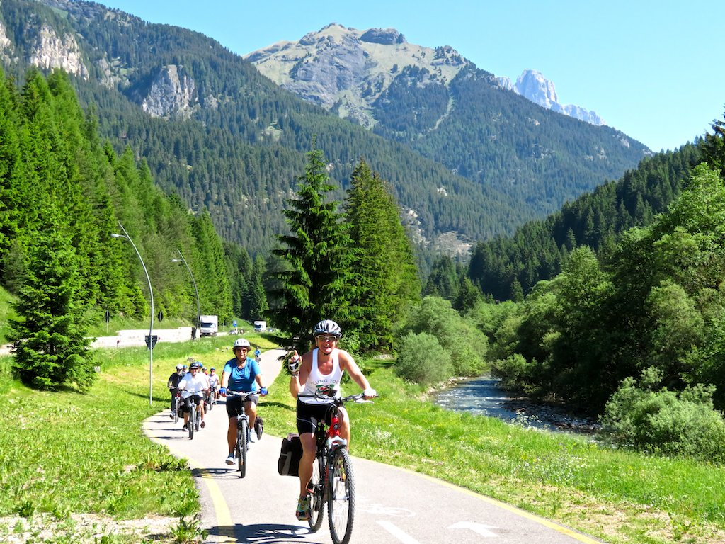 Bike tours in Italy Innsbruck-Venice - Cycling in Val Pusteria