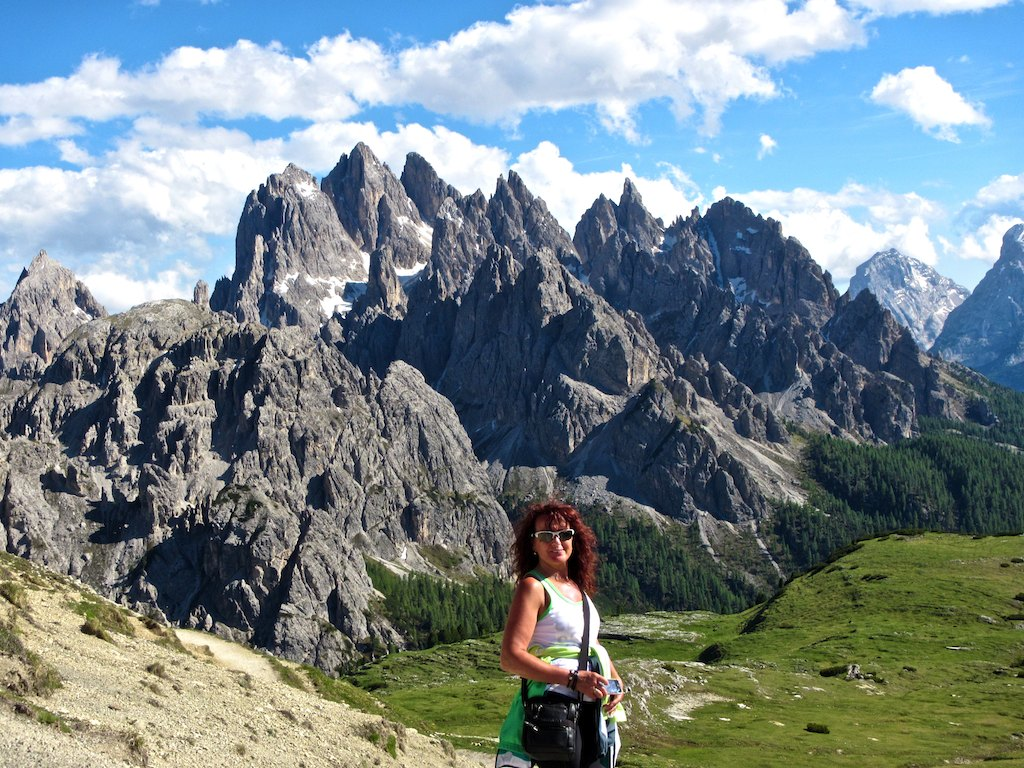 Bike tours in Italy Innsbruck-Venice - Magnificent scenery in the Dolomites