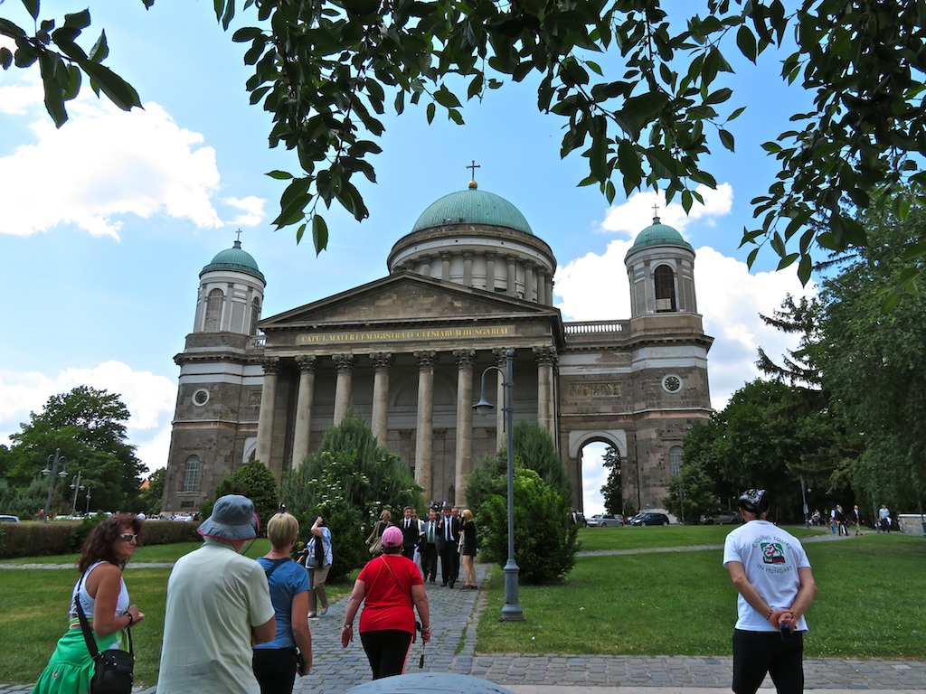 Cycling tours Best of Danube-Hungary - Esztergom-Cathedral