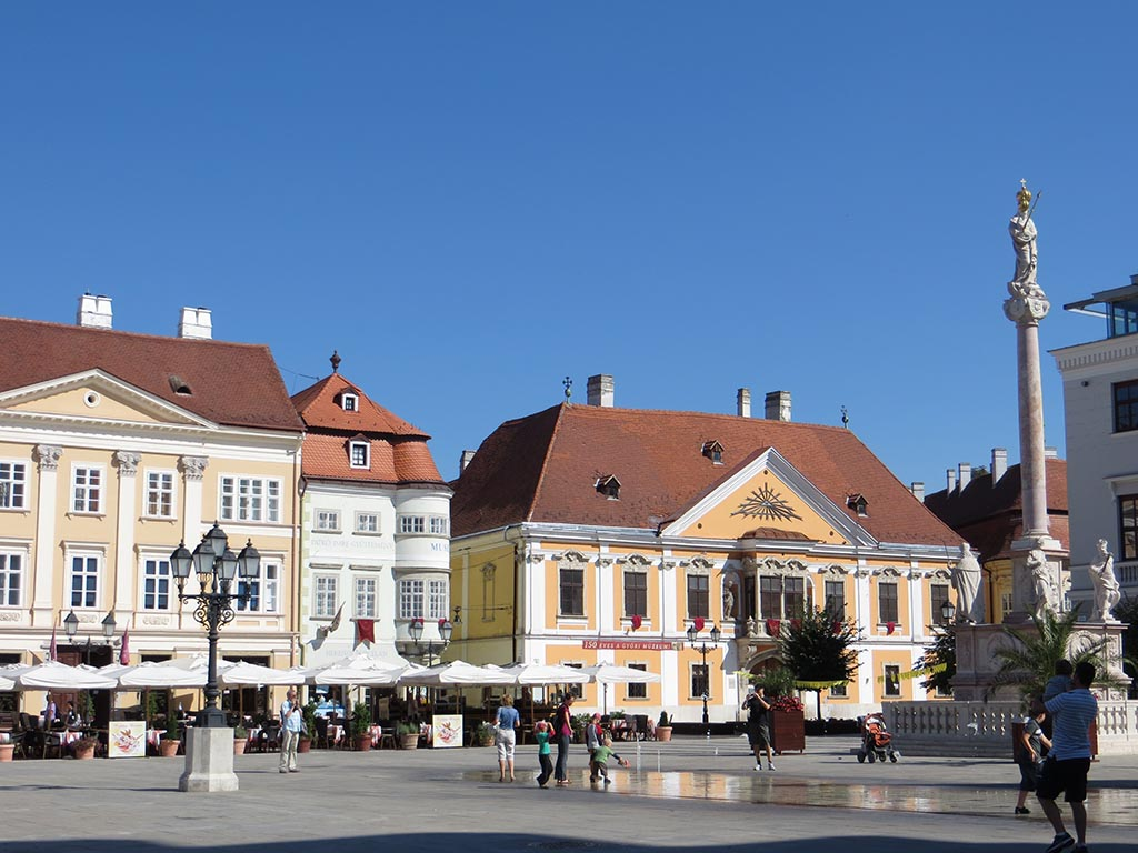Cycling tours Best of Danube-Hungary - Lovely Baroque town Gyor