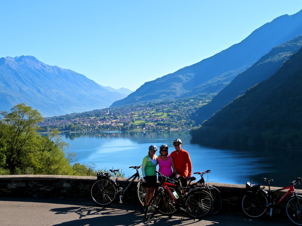 Cycling tours in Italy-Lake Como-Venice - Biking at Como Lake