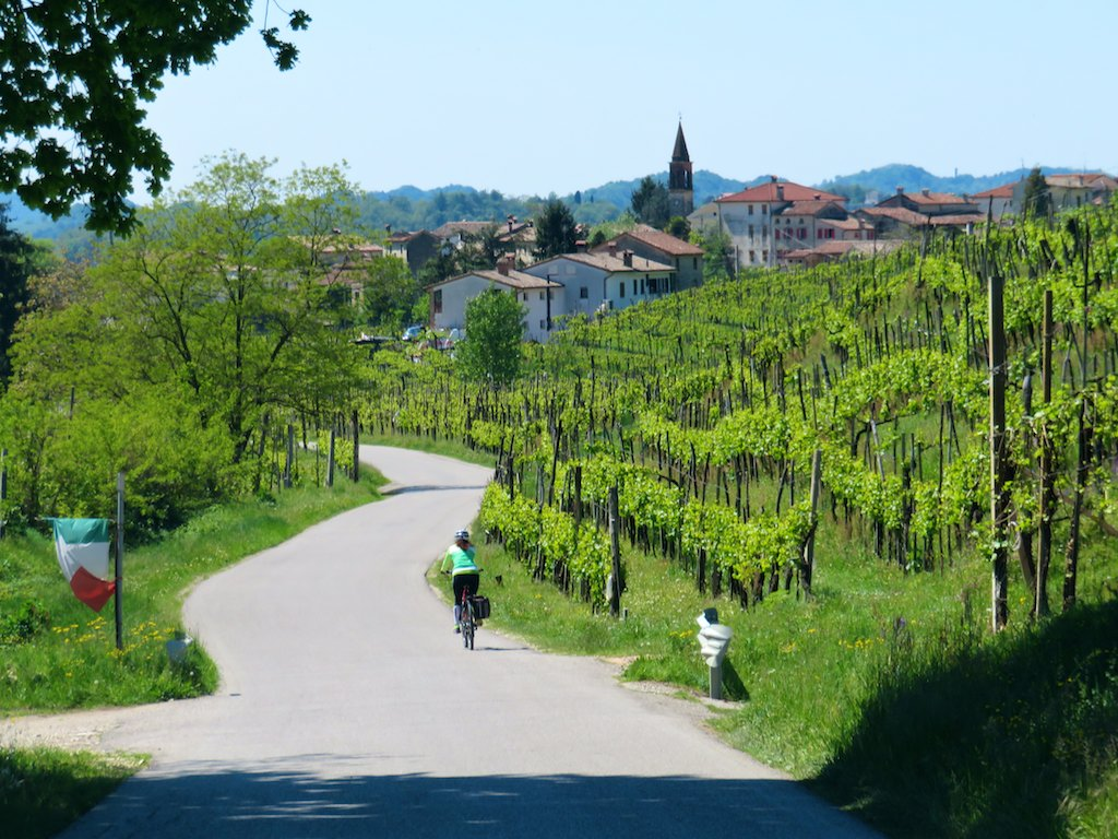 Cycling tours in Italy-Lake Como-Venice - Cycling among vineyards in Prosecco