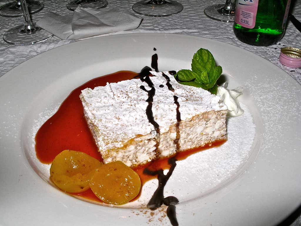 Cycling tours in Hungary Austria and Italy - A traditional Hungarian dessert - Vargabéles